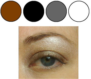 makeup for women mineral eye shadow neutral smokey